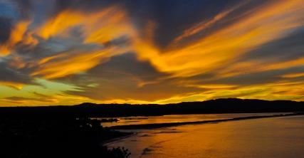 Maketu sunset