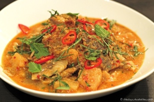Mackerel Pineapple Curry